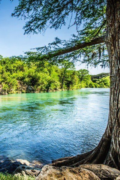 Live water creek in Texas Hill Country